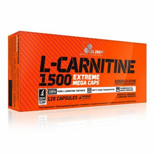 Olimp Sport Nutrition Olimp L-Carnitine 1500 Extreme (120 kapszula)