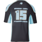 Gorilla Wear Athlete T-shirt 2.0 B. Curry (fekete/világoskék)
