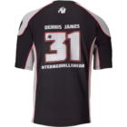 Gorilla Wear Athlete T-shirt 2.0 Dennis James (fekete/szürke)