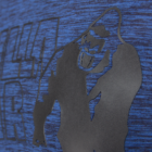 Gorilla Wear Austin T-shirt (navy kék/fekete)