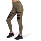 Gorilla Wear Savannah Biker Tights (army zöld)