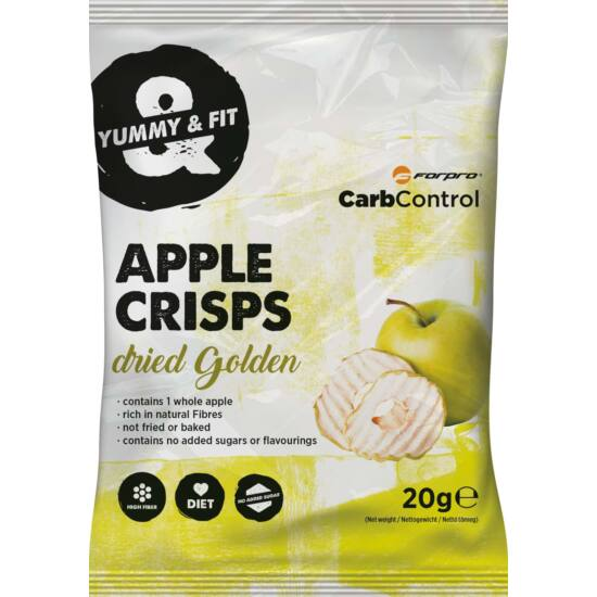 ForPro Apple Crisps Almaszirom - Golden (12 x 20g)