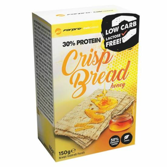 Forpro 30% Protein Crisp Bread - Honey (10 x 150g)