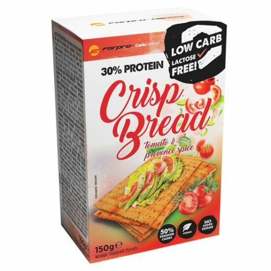 Forpro 30% Protein Crisp Bread - Tomato & Provence Spice (10 x 150g)
