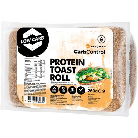 Forpro Protein Toast Roll (9 x 260g)