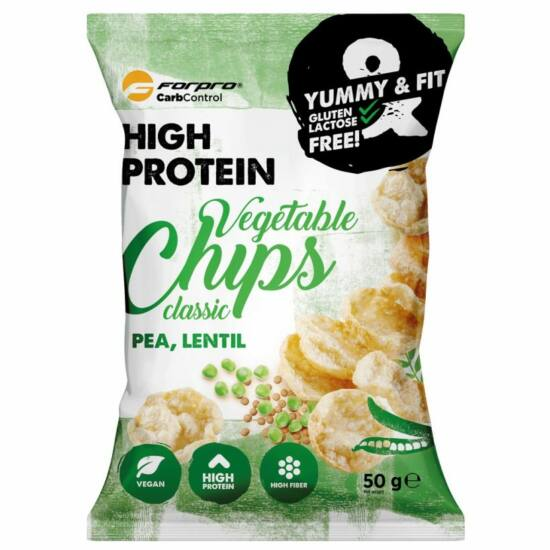 ForPro Protein Vegetable Chips (classic) (15 x 50g)
