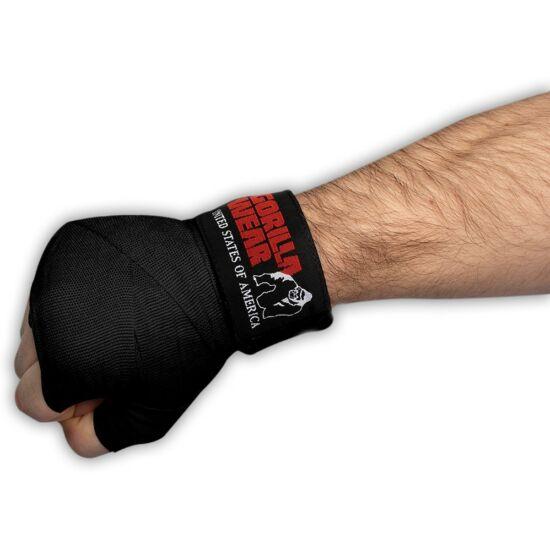 Gorilla Wear Boxing Hand Wraps (fekete)