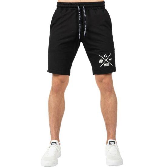 Gorilla Wear Cisco Shorts (fekete/fehér)