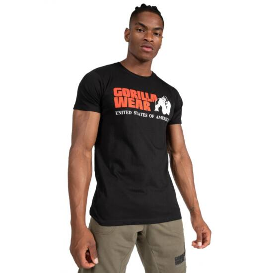 Gorilla Wear Classic T-shirt (fekete)