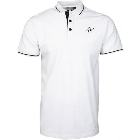 Gorilla Wear Delano Polo (fehér/fekete)