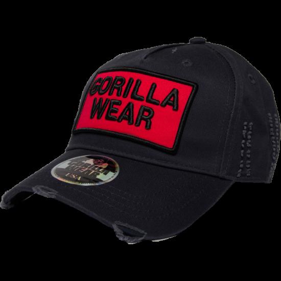 Gorilla Wear Harrison Cap (fekete/piros)