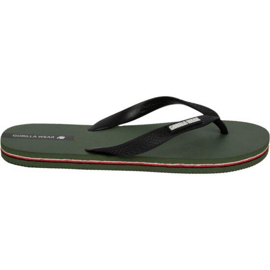 Gorilla Wear Kokomo Flip-flops (army zöld)