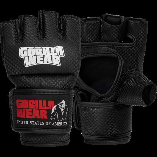Gorilla Wear Manton Mma Gloves - hüvelykujjal (fekete/fehér)