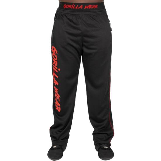 Gorilla Wear Mercury Mesh Pants (fekete/piros)