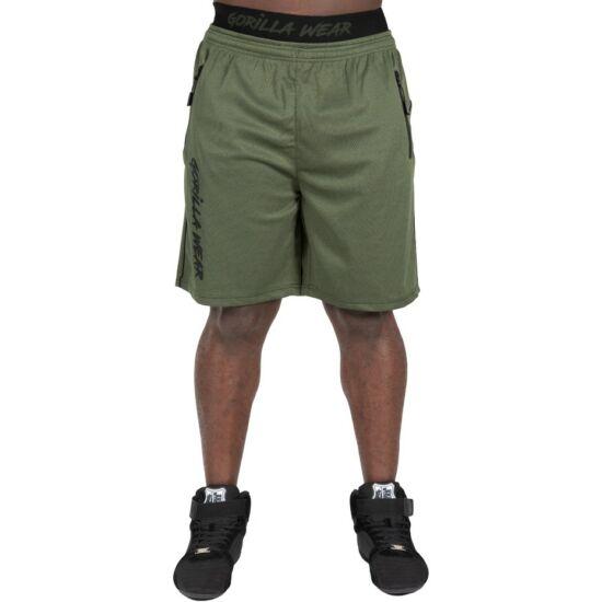 Gorilla Wear Mercury Mesh Shorts (army zöld/fekete)
