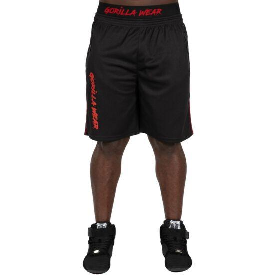 Gorilla Wear Mercury Mesh Shorts (fekete/piros)