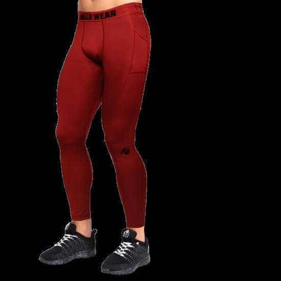 Gorilla Wear Smart Tights (burgundi piros)