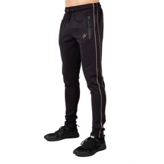 Gorilla Wear Wenden Track Pants  (fekete/arany)