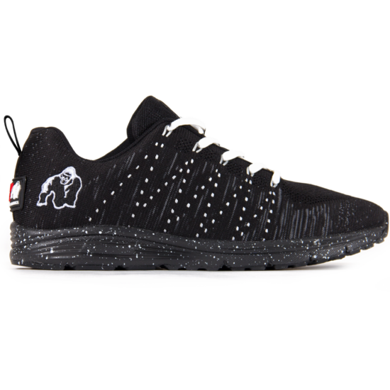 Brooklyn Knitted Sneakers - Black/White (fekete/fehér)