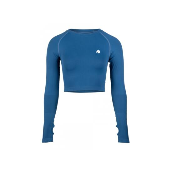Gorilla Wear Hilton Seemless Longsleeve (kék)