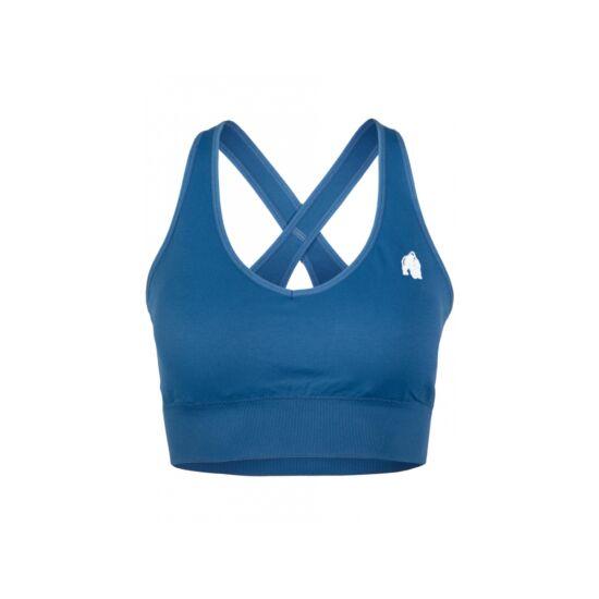 Gorilla Wear Hilton Seemless Sport Bra (kék)