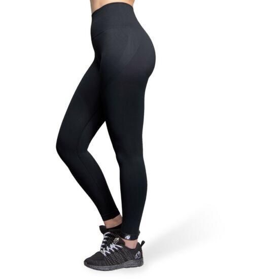 Gorilla Wear Yava Seamless Leggings (fekete)