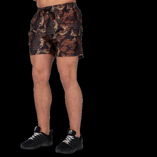 Gorilla Wear Bailey Short (barna terepmintás)