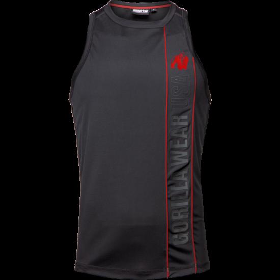 Gorilla Wear Branson Tank Top (fekete/piros)