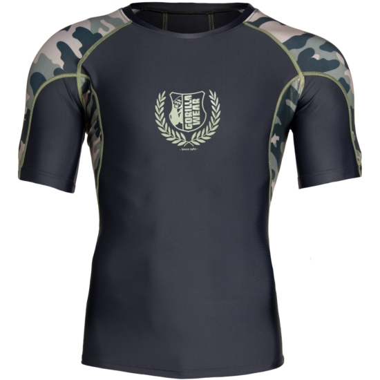 Gorilla Wear Cypress Rashguard Short Sleeves (army zöld terepmintás)