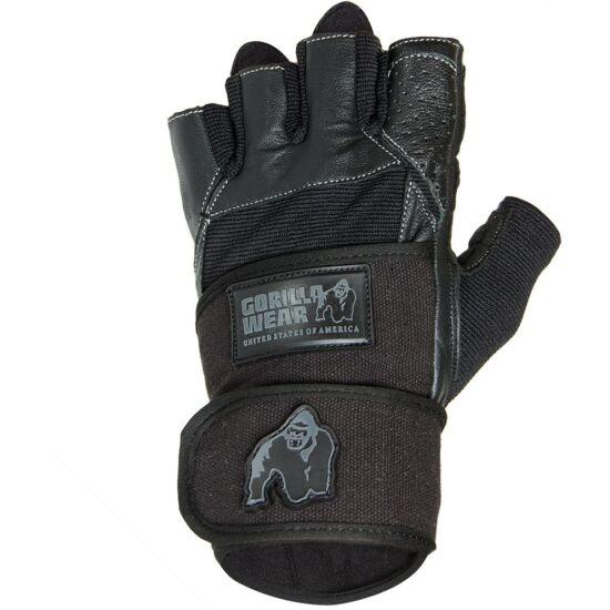 Gorilla Wear Dallas Wrist Wrap Gloves (fekete)