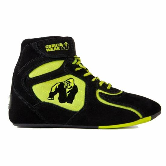 Gorilla Wear Chicago High Tops - Limited (fekete/lime)