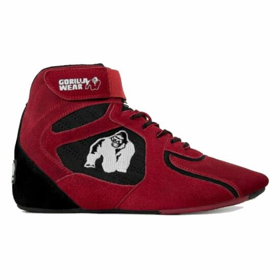 Gorilla Wear Chicago High Tops - Limited (piros/fekete)