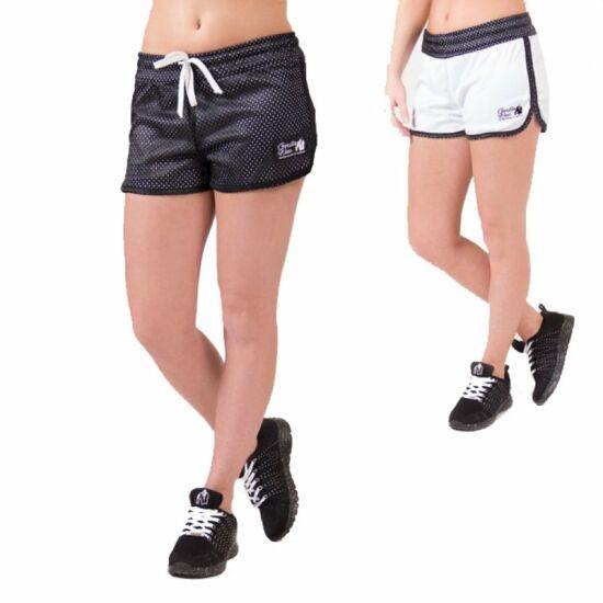 Gorilla Wear Madison kifordítható rövidnadrág (fekete/fehér)