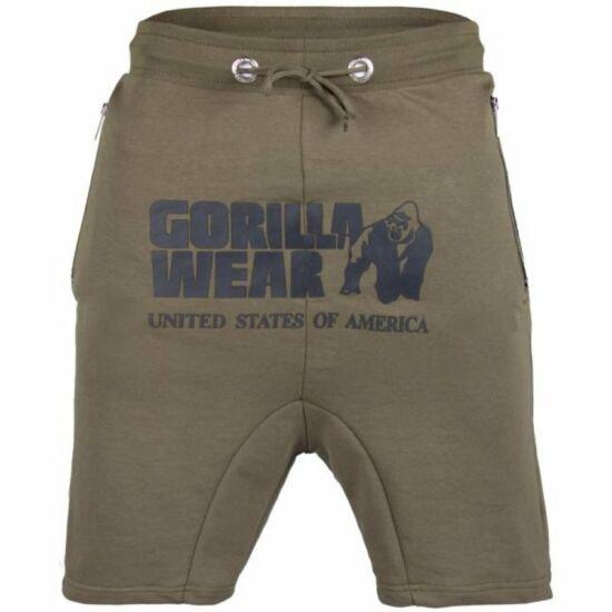 Gorilla Wear Alabama Drop Crotch Shorts (army zöld)