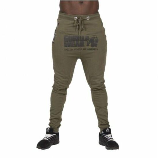 Gorilla Wear Alabama Drop Crotch Joggers (army zöld)