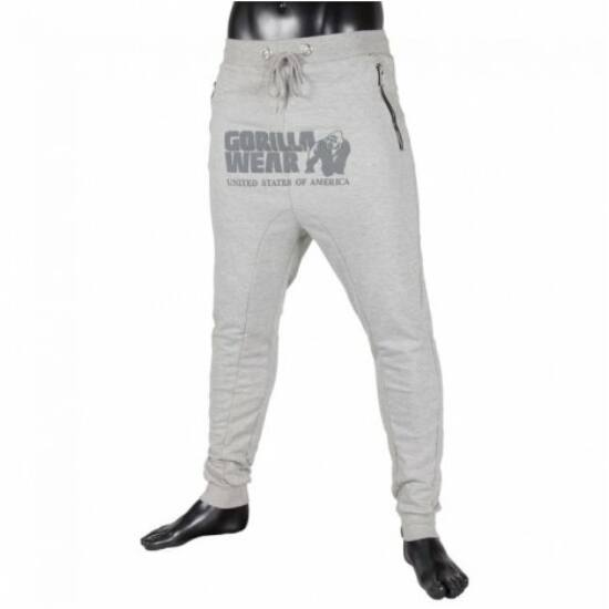 Gorilla Wear Alabama Drop Crotch Joggers (szürke)