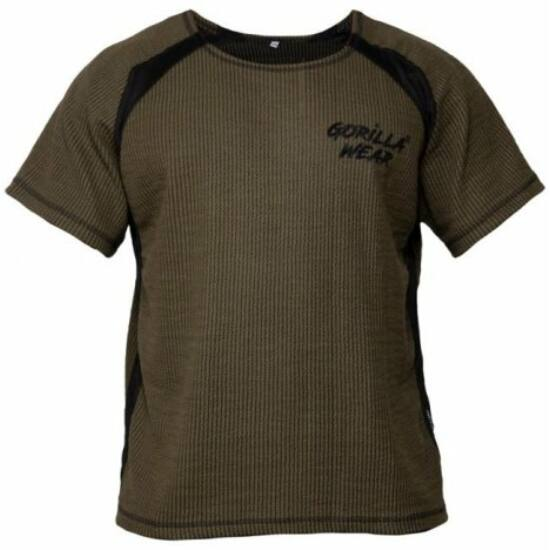 Gorilla Wear Augustine Old School Work Out Top (army zöld)