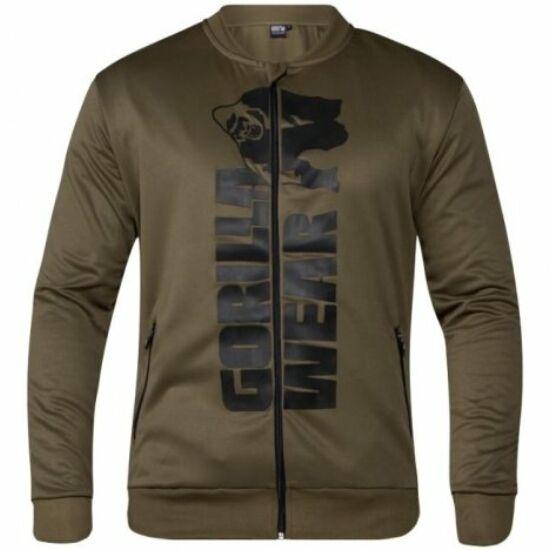Gorilla Wear Ballinger Track Jacket (army zöld/fekete)