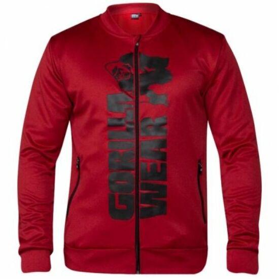 Gorilla Wear Ballinger Track Jacket (piros/fekete)