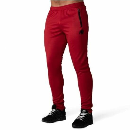 Gorilla Wear Ballinger Track Pants (piros/fekete)