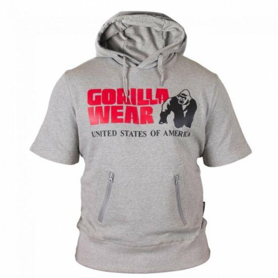 Gorilla Wear Boston Short Sleeve Hoodie (szürke)
