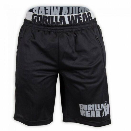 Gorilla Wear California Mesh Shorts (fekete/szürke)