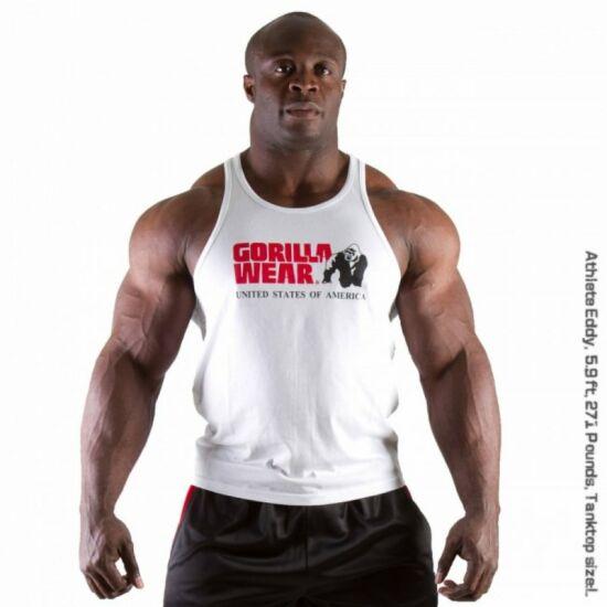Gorilla Wear Classic Tank Top (fehér)