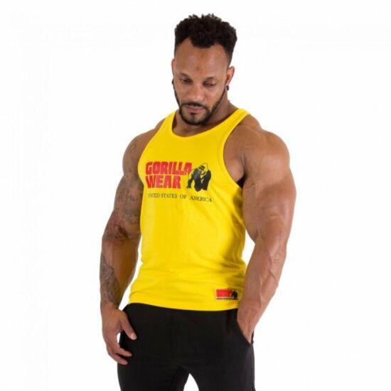 Gorilla Wear Classic Tank Top (sárga)