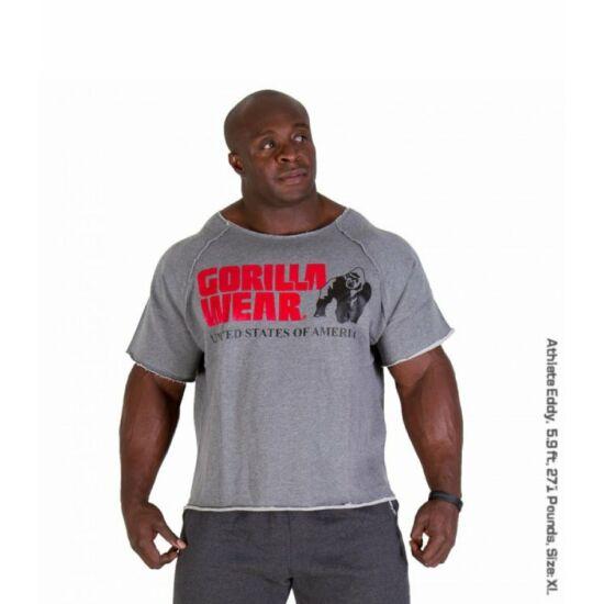 Gorilla Wear Classic Work Out Top (szürke)