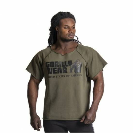 Gorilla Wear Classic Work Out Top (army zöld)