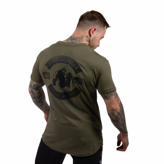 Gorilla Wear Detroit T-shirt (army zöld)