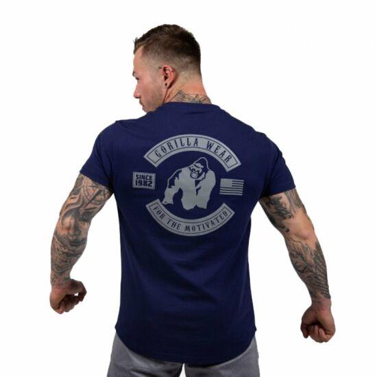 Gorilla Wear Detroit T-shirt (navy kék)