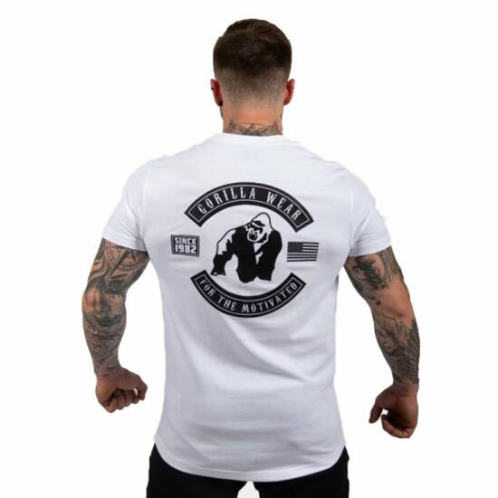 Gorilla Wear Detroit T-shirt (fehér)