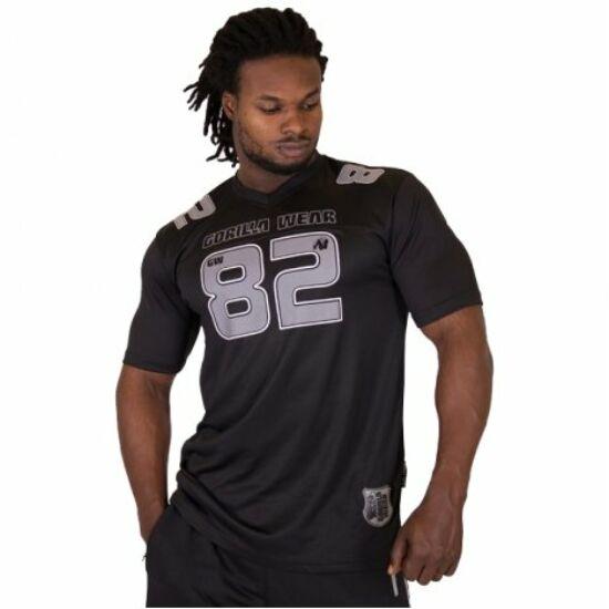 Gorilla Wear Fresno T-shirt (fekete/szürke)